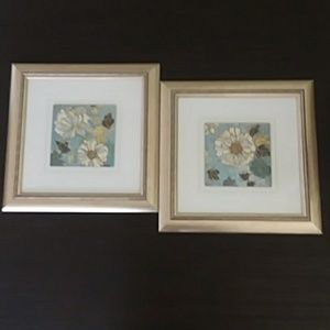 Framed Dahlia Prints